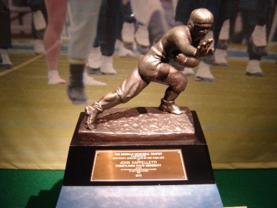 The Heisman Trophy and college football are the big winners.