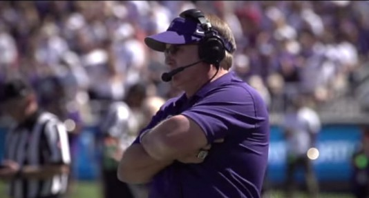 TCUs Gary Patterson -- not happy about being left out.