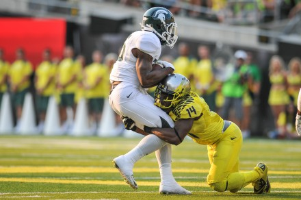 Last season, Ekpre-Olomu was second on the team in tackles with 84