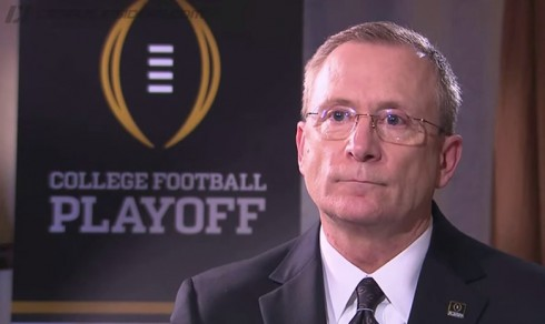 The CFP Selection Committee chairman, Jeff Long