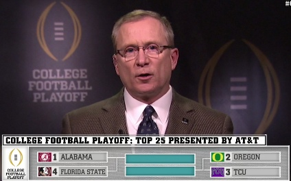 Jeff Long, Selection Committee Chair.