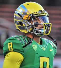 Marcus Mariota in the Civil War.