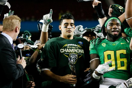 The 2014 Pac-12 Championship Game's MVP, Marcus Mariota, was a two-star recruit.