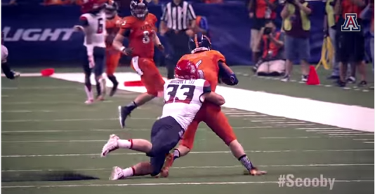 Scooby Wright is wreaking havoc throughout college football.