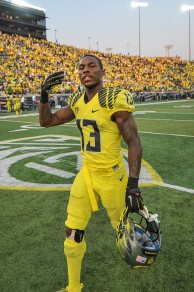 Troy Hill after the Michigan State victory