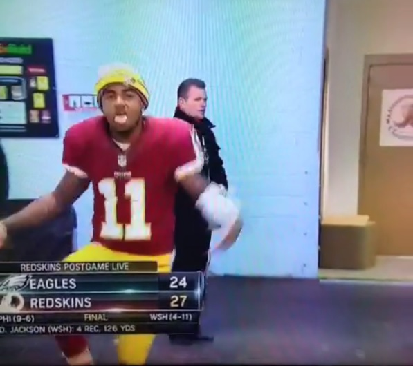 DeSean Jackson, magnanimous in victory