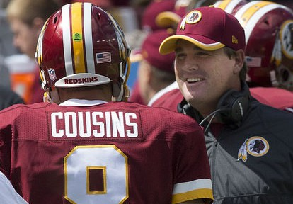 Gruden to Kirk Cousins -- you suck, ha ha!