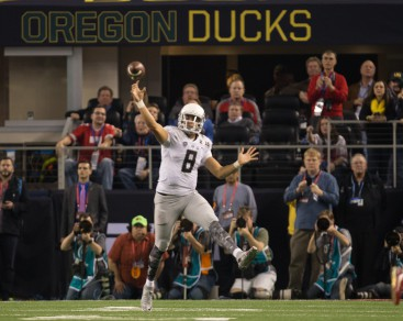 Marcus Mariota and the Ducks never got their offense rolling.