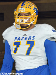 """The 6'7"""" 330 lb. offensive lineman may be another beast taken in 2015"""