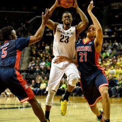 Redshirt junior forward Elgin Cook in game against the Arizona Wildcats earlier this season.