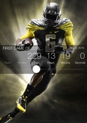 Countdown until the first game of the 2015 season. (Screenshot taken at 10:40 a.m. pacific time).