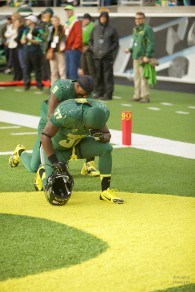 Duck Prayer in Endzone