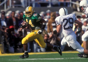 Ricky Whittle in the Rose Bowl