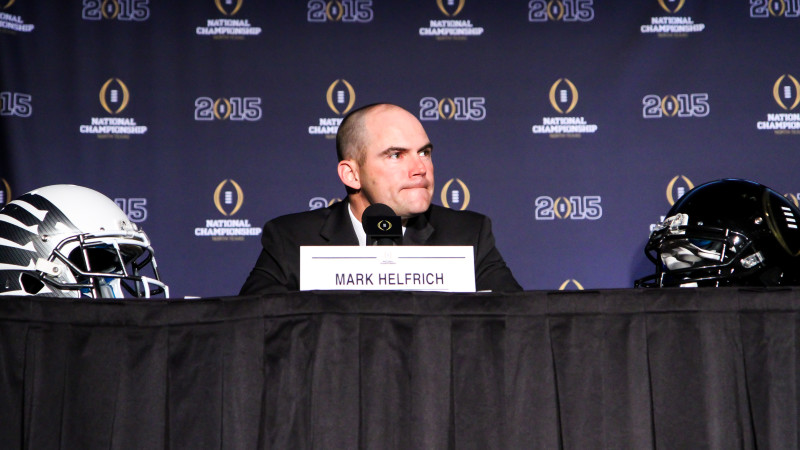 Mark Helfrich is exactly the kind of guy I'd want leading my football program.