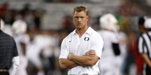 Frost was one of many members of the Oregon staff trying to support Marcus that night.