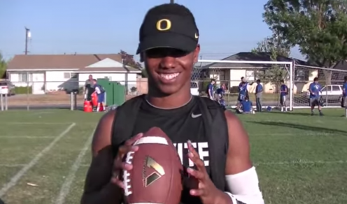 Waller in an interview about Oregon.