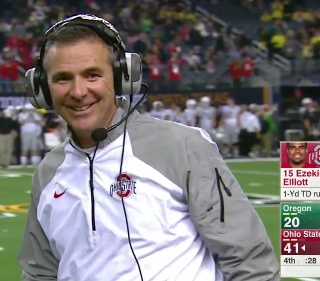 Urban win the lottery?  No-he scored with 28 seconds left.