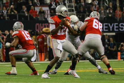 Cardale Jones didn't look like a third string QB Monday night.
