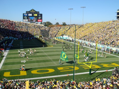 Another full house at Autzen. I do love that place.
