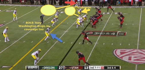Coleman has the underneath zone.