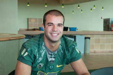 Jeff Lockie hopes his two years of experience under Mariota will help him next season as the Ducks seek a new starting quarterback.