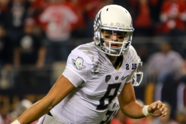 Marcus Mariota was the first Heisman winner in the school's history.