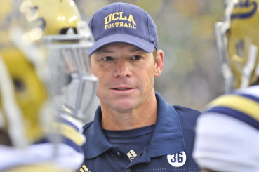 UCLA Coach Jim Mora has had better success recruiting against the Ducks than coaching against them.