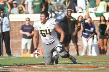 Johnstone in 2013 when Oregon faced off against Virginia.