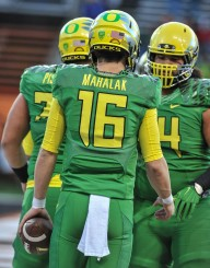 Mahalak was a 4-star recruit and Under Armour All-American before redshirting at Oregon last season.