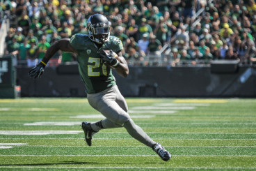 Royce Freeman Likely To Be The Number One Back Next Year