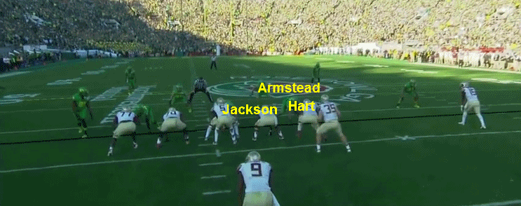 Armstead at three-technique.