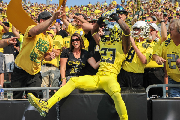 The one thing B.J. Kelley will miss the most is the 'Autzen Experience.'