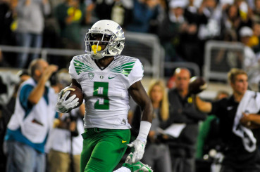 Marshall led all Duck receivers with 1,003 receiving yards in 2014.
