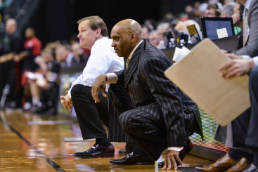 Crouching tigers Dana Altman and Tony Stubblefield