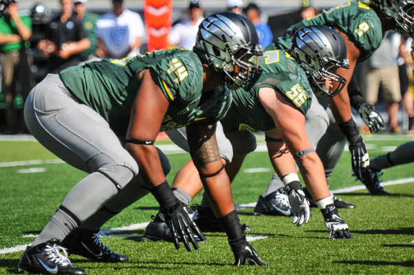 Returning All Pac-12 Defensive End DeForest Buck will look to help Oregon's defense improve in 2015