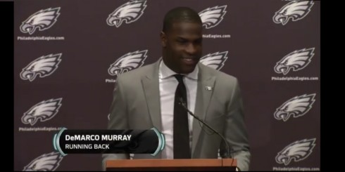 DeMarco Murray, happy to be out of Dallas