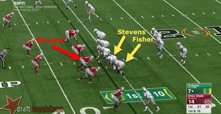 The Ducks show Inside Zone Read in advance.