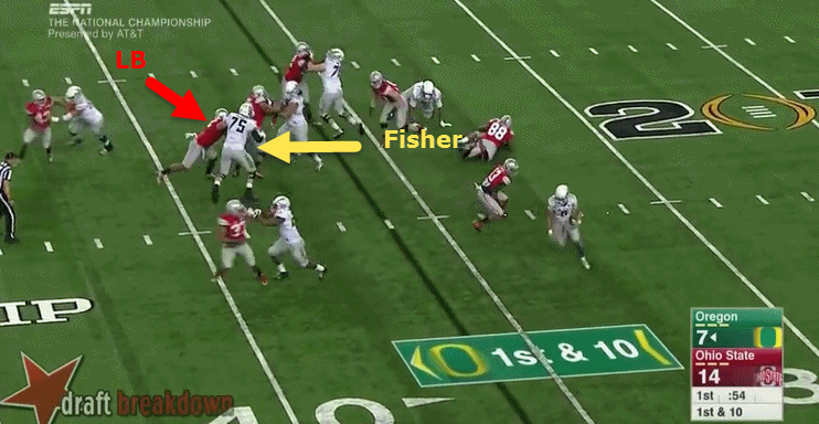 Fisher needs to consistently keep his grip.