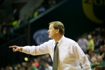 Dana Altman won the Pac-12 coach of the year award for the second time in the last three years.