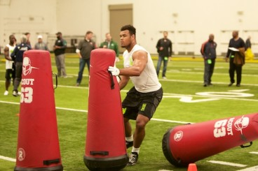 Armstead has been leaned out getting ready for the NFL