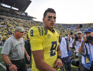 Mariota has only improved his draft stock since announcing his eligibility for the 2015 NFL Draft.
