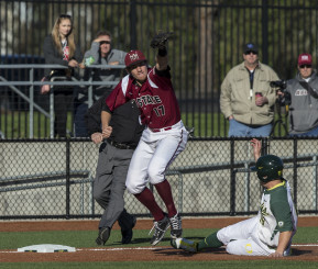 Graham slides into third against New Mexico State
