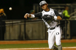 Transfer 3B Matt Eureste could be considered the Ducks MVP so far.