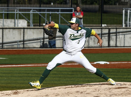 Freshman pitcher David Peterson has posted a 3.00 ERA and 31 strikeouts this season.