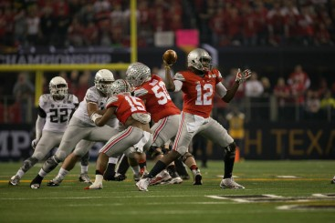 Ohio State quarterback Cardale Jones