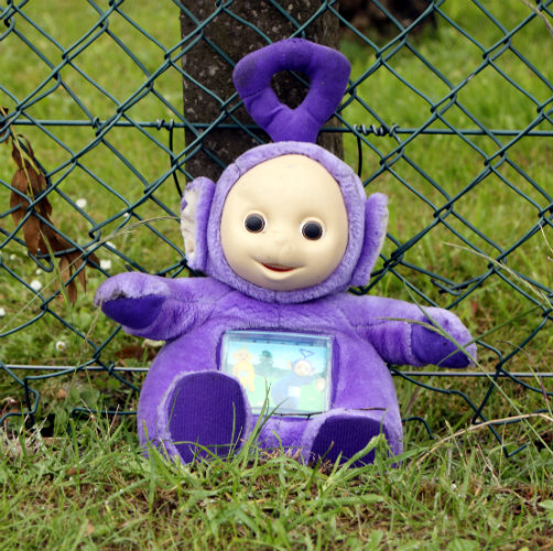 It won't be Tinky-Winky. He's too progressive.