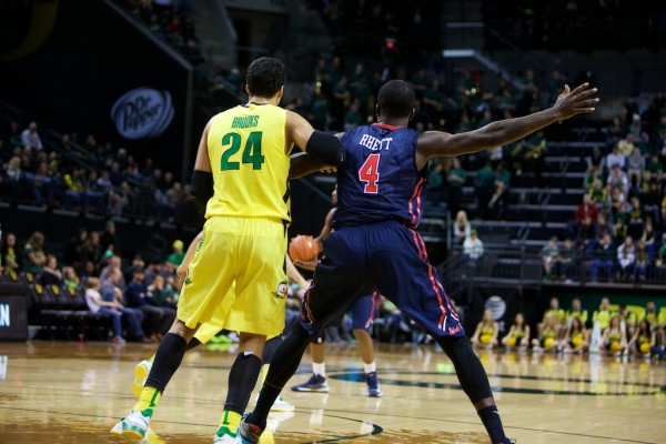 Ducks fans are elated to have Dillon Brooks back for his sophomore season.