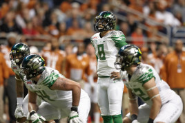 Johnstone (pictured bottom left) last played in the 2013 Alamo Bowl
