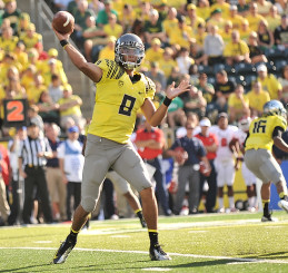 Mariota produced one of the best seasons in college football history in 2014.