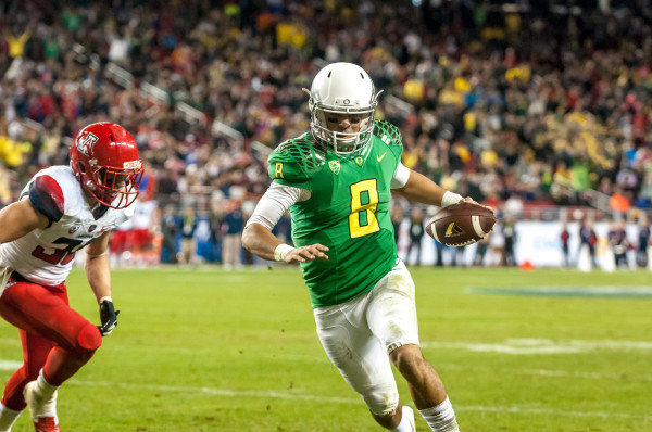 Mariota in the Pac-12 Championship